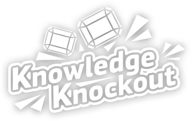 Knowledge knockout logo