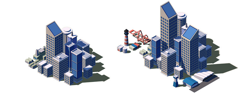 The land of Attaga two largest isometric game cities